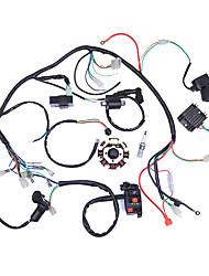 Недорогие -электрический жгут проводов cdi статор в сборе для квад квадроцикла 125cc-250cc