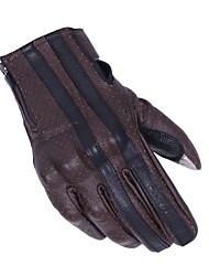 abordables -LITBest Doigt complet Unisexe Gants de moto Cuir Respirable / Antiusure / Protectif
