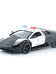 cheap -Pull Back Vehicle Police car Car Unisex Toy Gift / Metal