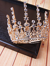 cheap -Alloy Tiaras / Headdress / Headpiece with Imitation Pearl / Sparkling Glitter / Glitter 1pc Wedding Headpiece