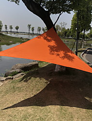 cheap -2 person Tent Tarps Outdoor Breathability Pop Up Camping Tent 1000-1500 mm for Camping / Hiking / Caving Terylene 200*200 cm