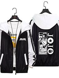cheap -Inspired by JoJo's Bizarre Adventure JOJO Anime Cosplay Costumes Japanese Cosplay Hoodies Hoodie For Men's Women's