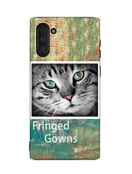 cheap -Case For Samsung Galaxy Galaxy Note 10 / Galaxy Note 10 Plus Shockproof Back Cover Cat TPU