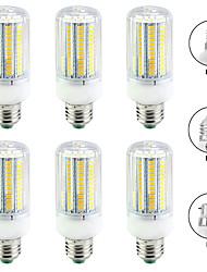 cheap -6pcs 20 W LED Corn Lights 2000 lm E14 B22 E26 E27 T 144 LED Beads SMD 5730 Warm White White 220-240 V 110-120 V