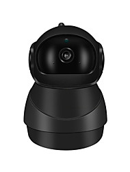cheap -HD 1080P PTZ Wireless Smart Home Security IP Camera Indoor Night Vision Remote Access Motion Detection WiFi CCTV Camera With Audio for Baby Room Living Room