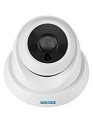 cheap -ESCAM PEL_04EI QH001 ONVIF H.265 HD 1080P P2P IR Dome IP Camera Day / Night Vision Indoor Bulb Home Security Camera Motion Detection with Smart Analysis Function