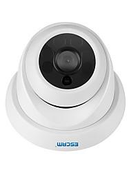 Недорогие -escam pel_04ei qh001 onvif h.265 hd 1080p p2p купольная ip-камера ip