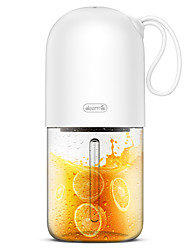 cheap -Fruit Juicer Bottle 0.3 L Single Portable Durable Plastics Alloy for 1 person Outdoor Camping / Hiking Outdoor Picnic White