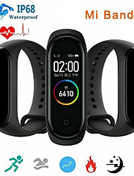 cheap -Xiaomi Mi Band 4 Smart Watch BT 5.0 Fitness Tracker Support Notify/Heart Rate Monitor Compatible Samsung/HUAWEI Android Phones & IPhone Bluetooth Smartwatch(China Version)