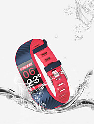 cheap -F4 Smart Bracelet Watch Sports Blood Pressure Blood Oxygen Multi-motion Mode Ip68 Waterproof Two-color Silicone