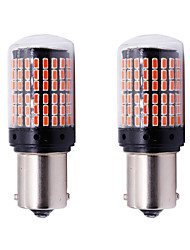cheap -2pcs P21W PY21W T20 W21W 7440 Turn Signal Light S25 144 SMD Canbus ERROR FREE Car Bulb Brake lamp12-24v