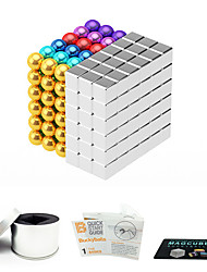 cheap -216 pcs Magnet Toy Magnetic Balls Magnet Toy Super Strong Rare-Earth Magnets Magnetic Square Stress and Anxiety Relief Office Desk Toys Relieves ADD, ADHD, Anxiety, Autism Teenager / Adults' All Toy