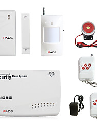 cheap -Wireless GSM Burglar Alarm System Garage Detector Motion Sensor Detector Security Protection Phone Dailing Smart Accessories Key Control Arming And Disarming