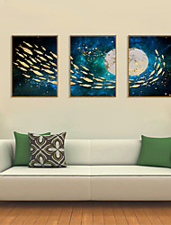 cheap -Framed Art Print Framed Set - Abstract PS Illustration Wall Art
