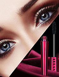 cheap -Brand LULAA Changhong Tube Curling Thick And Long 4D Mascara Waterproof Natural Not Blooming