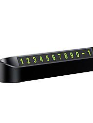 Недорогие -автомобиль временная парковка телефонные номера карты парковочные номера табличка с наклейкой знак автомобильные аксессуары