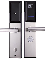cheap -Factory OEM 1068RF Stainless Steel lock / Intelligent Lock / Card Lock Smart Home Security Android System RFID Home / Office / Hotel Wooden Door (Unlocking Mode Card)