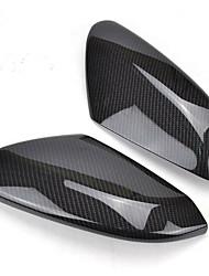 Недорогие -Крышка зеркала заднего вида боковое зеркало двери углеродного волокна отделка салона для Honda Civic 2016 2017 2019