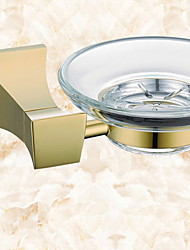 cheap -Soap Dishes & Holders New Design / Cool Modern Brass 1pc Wall Mounted