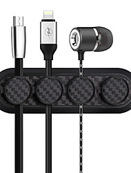 cheap -Car Line Data Magnetic Wire Clip Wall Desktop Cable Storage Organizer