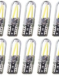 cheap -10pcs/Set T10 Car LED 12V Canbus Lights 168 194 W5W No Error Filament COB 3W White Light