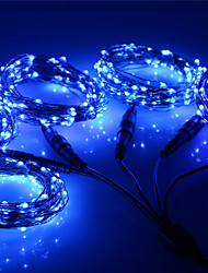 cheap -Engineering Quality 30m Christmas String Lights 300 LEDs Warm White / RGB / White / Blue / Outdoor Waterproof Starry Lights New Design / Party  DC12 V 5pc