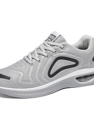 cheap -Men's Comfort Shoes Mesh / Tissage Volant Spring / Fall & Winter Sporty / Casual Athletic Shoes Running Shoes / Fitness & Cross Training Shoes Non-slipping Black / White / Gray