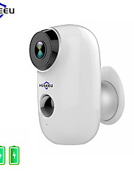 cheap -Hiseeu 1080P Wireless Battery IP Camera WiFi Rechargeable 2MP Outdoor Security Video Surveillance Camera Waterproof PIR Motion Night Vision Motion Detection Two Way Audio
