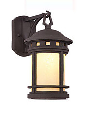 cheap -Wall Lamp Outdoor Waterproof Rustproof Wall Lantern with Net Cages Shade Antique Wall Sconces Landscape Light for Courtyard Corridor Bath