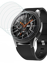 cheap -Screen Protector for Samsung Galaxy Watch 42mm/46mm Tempered Glass Transparent High Definition (HD) 1 pcs Scratch Proof/9H Hardness