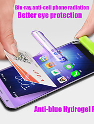 cheap -full anti-blue light ray soft screen protector hydrogel film for samsung galaxy s10 s9 s8 plus note 8 9 a9s a8 s7 edge s10 plus
