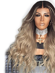cheap -Synthetic Wig Body Wave Layered Haircut Wig Blonde Very Long Black / Gold Synthetic Hair 68~72 inch Women's New Arrival Blonde