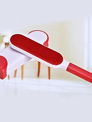 abordables -Chien Chat Vêtement Démaquillant Brosse à fourrure ABS + PC Brosses Multifonctionnel Portable Animaux de Compagnie Accessoires de Toilettage Orange Rouge Bleu 3
