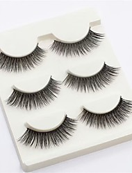 cheap -Eyelash Extensions Easy to Carry Women Adorable Beauty Cosplay Cute Fiber Holiday Wedding Party Going out Crisscross Natural Long - Makeup Daily Makeup Halloween Makeup Party Makeup Sweet Fashion