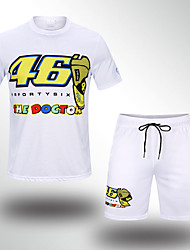 cheap -The new 2019 MOTO GP 46 Yamaha racing casual knight quick-drying breathable T-shirt locomotive male off-road motorcycle riding short set