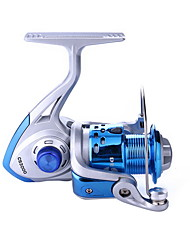 cheap -Fishing Reel Spinning Reel 4.9/1 Gear Ratio+8 Ball Bearings Hand Orientation Exchangable Sea Fishing