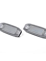 cheap -White LED License Number Plate Light Bulb for Volvo C30 C70 S80 V70 XC70