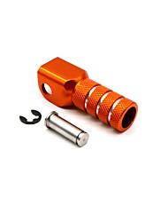 cheap -Rear Brake Pedal Step Gear Shift Lever Top For KTM 125 530 duke 690 990-Orange-1* Shift Pedal Tip
