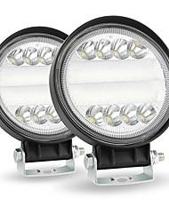 Недорогие -4 дюймовый круглый светодиодный свет работы 4wd внедорожник светодиодный 200 Вт 6000 К прожекторных лучей внедорожный бар фар автомобиля package2pcs