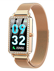 cheap -Smartwatch Digital Modern Style Sporty 30 m Water Resistant / Waterproof Heart Rate Monitor Bluetooth Digital Casual Outdoor - Gold Silver Blue