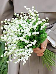 cheap -Artificial Flowers 6 Branch Classic Wedding European Campanula Tabletop Flower
