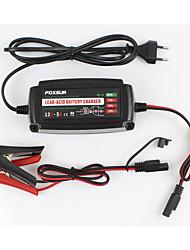 Недорогие -12v 5a 4-этапное автомобильное зарядное устройство водонепроницаемый ремонт смарт-зарядное устройство (европейский стандарт) modelsfbc1205
