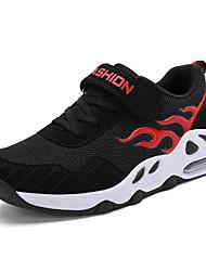 abordables -Garçon Confort Flyknit Chaussures d'Athlétisme Grands enfants (7 ans et +) Marche Blanche / Rouge / Bleu Printemps / Gomme