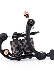 cheap -Solong Tattoo Professional Tattoo Machine - Coil Tattoo Machine Professional Level Portable Professional 1 pcs 10 W Cast Iron Handmade