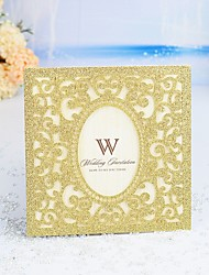 "cheap -Wrap & Pocket Wedding Invitations 30pcs - Invitation Cards / Thank You Cards / Response Cards Artistic Style / Modern Style / Fairytale Theme Pearl Paper 6""×6"" (15*15cm)"