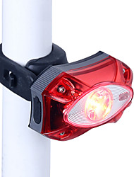 cheap -LED Bike Light Rear Bike Tail Light Safety Light Mountain Bike MTB Bicycle Cycling Waterproof Multiple Modes Portable Adjustable Li-ion Rechargeable USB White Camping / Hiking / Caving Cycling / Bike