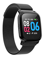 cheap -Smartwatch Digital Modern Style Sporty Silicone 30 m Water Resistant / Waterproof Heart Rate Monitor Bluetooth Digital Casual Outdoor - Black Silver Red