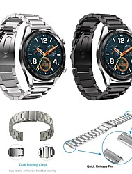 cheap -Watch Band for Huawei Watch GT Huawei Classic Buckle Stainless Steel Wrist Strap
