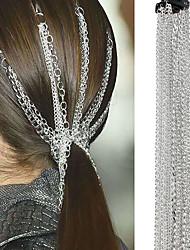 cheap -Women's Statement Vintage Trendy Aluminum Hair Clip Party School