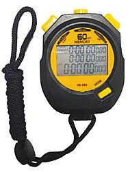 cheap -Men's Women's Sport Watch Stopwatch Japanese Digital Black 30 m Chronograph New Design Alarm Clock Digital Outdoor New Arrival - Black Two Years Battery Life
